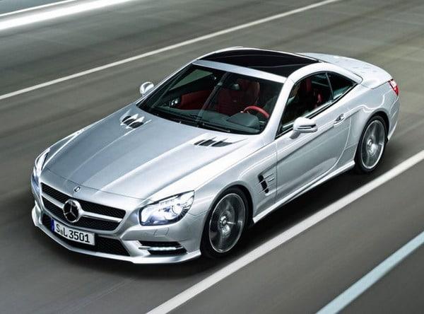 """Nuova Mercedes SL: le prime immagini """"non ufficiali"""""""