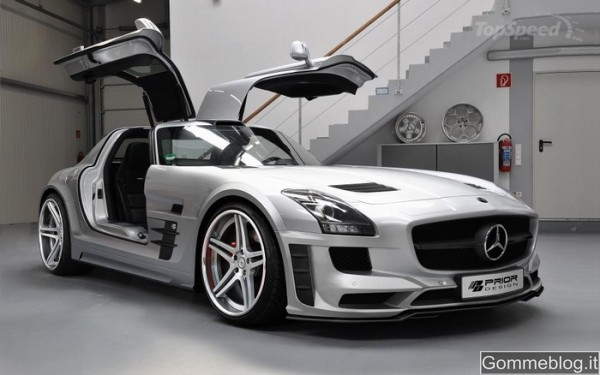 Mercedes SLS AMG Tuning Prior Design 1