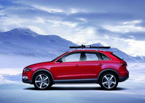 Audi Q3 Vail: pensato per gli amanti degli sport invernali 4