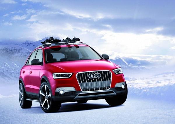 Audi Q3 Vail: pensato per gli amanti degli sport invernali