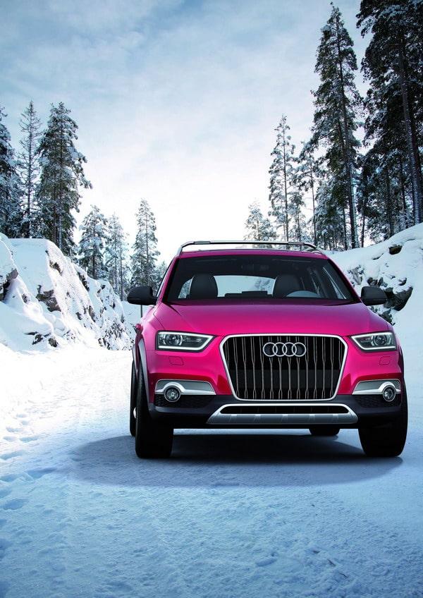 Audi Q3 Vail: pensato per gli amanti degli sport invernali 2