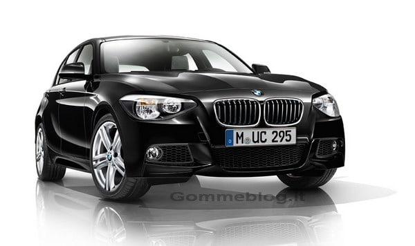 BMW 125d: con 218 CV è la più potente tra le rivali