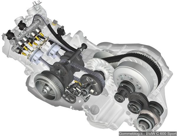 Scooter BMW: C 600 Sport e C 650 GT. La tecnica, le prestazioni e le differenze 8