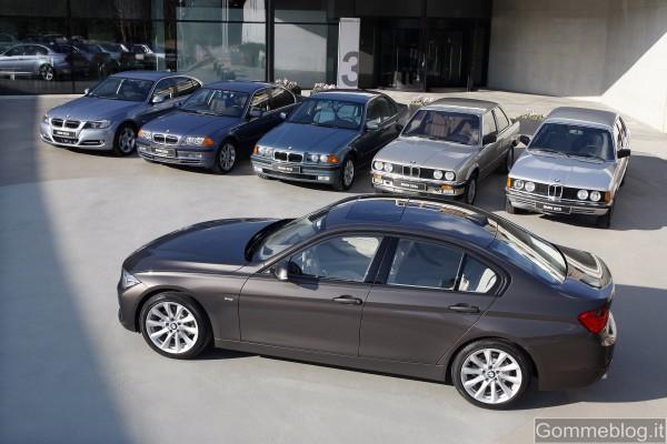 """BMW Serie 3: un """"volto"""" attraverso i tempi che cambiano: dinamico, innovativo ma sempre BMW 4"""