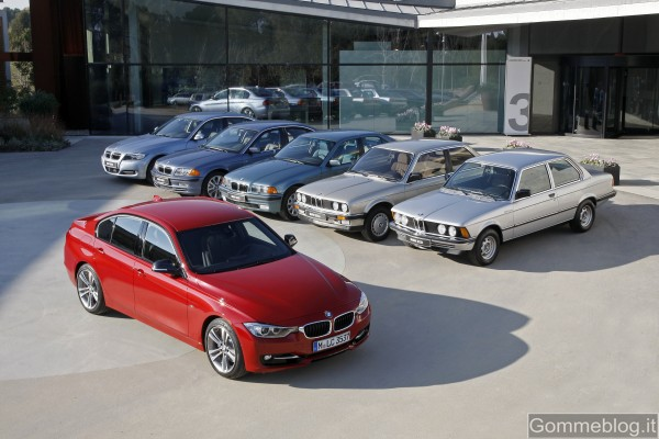 BMW Serie 3: i video di come'era e com'è dal 1975 ad oggi