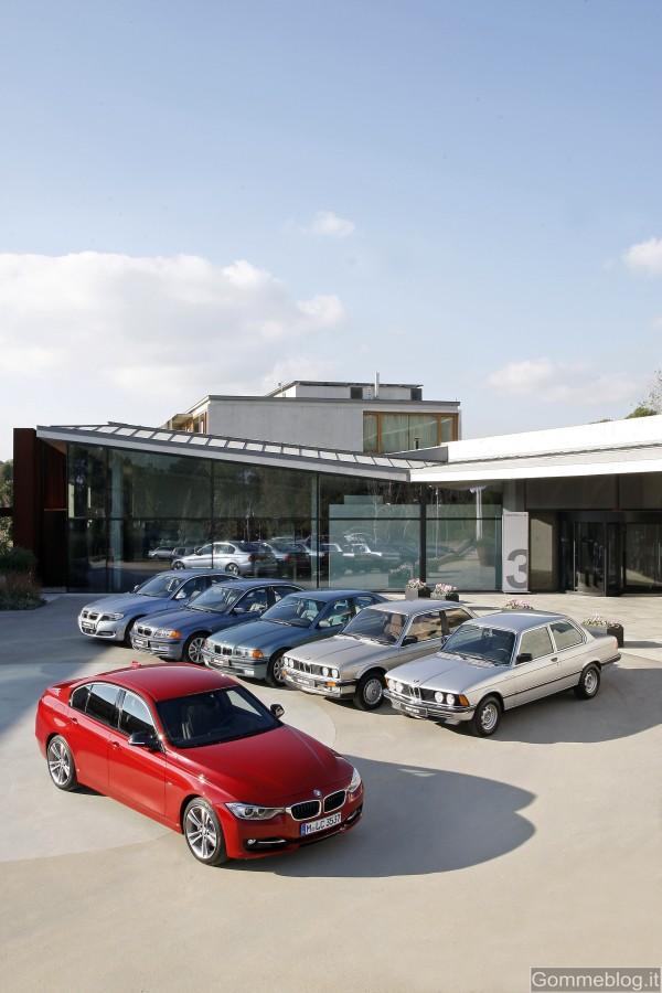 """BMW Serie 3: un """"volto"""" attraverso i tempi che cambiano: dinamico, innovativo ma sempre BMW 3"""