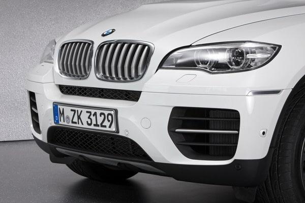 BMW X5 M50d e BMW X6 M50d in dettaglio