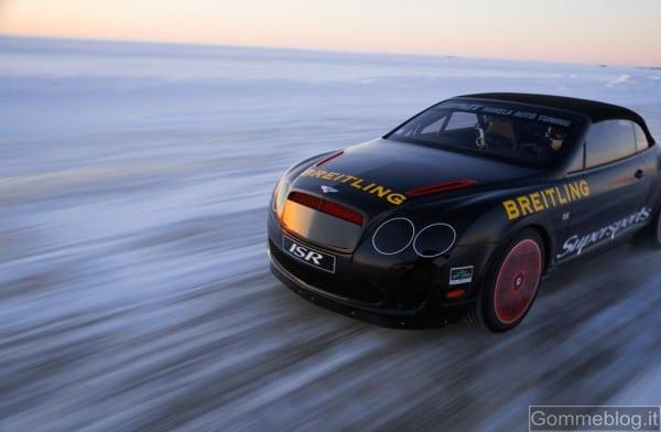 Bentley Power On Ice: sei pronto a guidare sul ghiaccio finlandese auto da 630 cv? 1