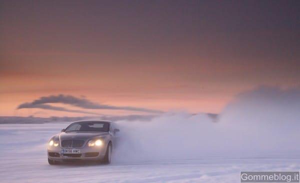 Bentley Power On Ice: sei pronto a guidare sul ghiaccio finlandese auto da 630 cv? 3