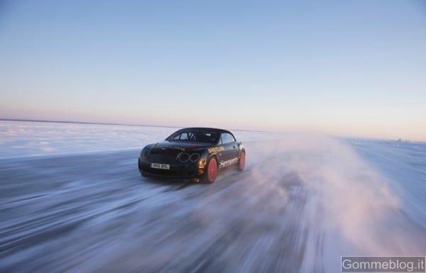 Bentley Power On Ice: sei pronto a guidare sul ghiaccio finlandese auto da 630 cv? 2