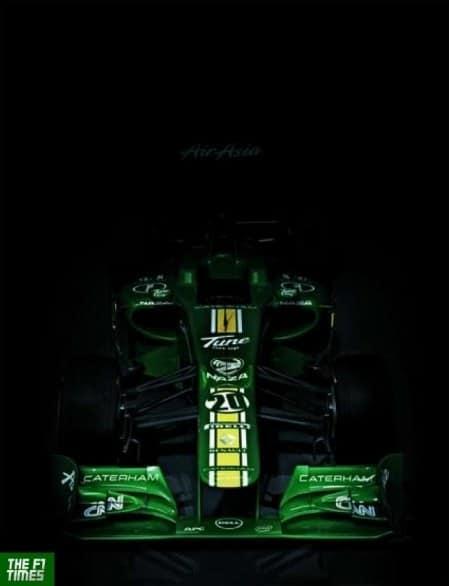 Caterham CT 01 è la prima monoposto di Formula 1 2012 2