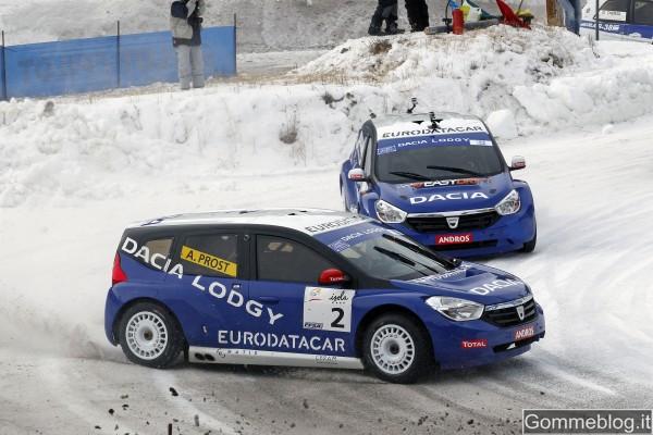 """Dacia Lodgy """"ICE"""" inizia l'anno con una doppietta"""