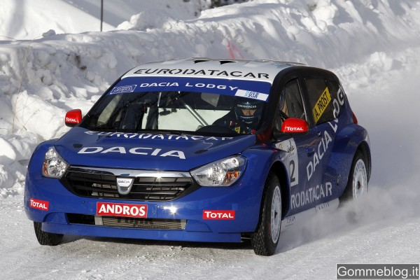 """Dacia Lodgy """"ICE"""" inizia l'anno con una doppietta 5"""