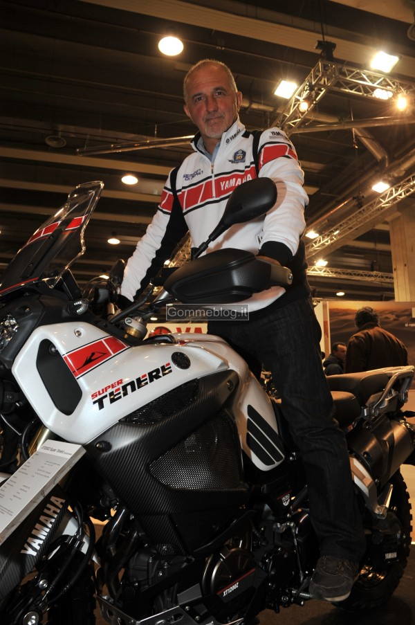 Franco Picco al Motor Bike Expo Show Di Verona 3