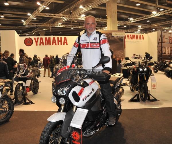Franco Picco al Motor Bike Expo Show Di Verona
