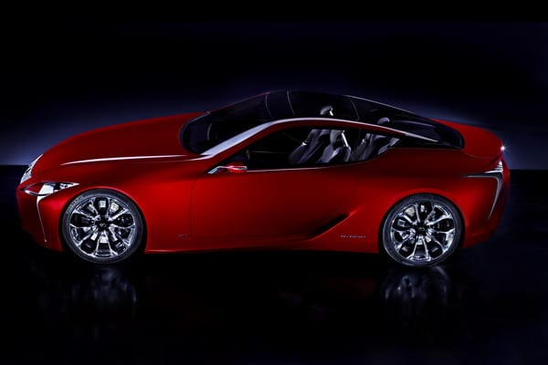 Lexus LF-LC: elegante prototipo della nuova coupé full hybrid 2+2 5
