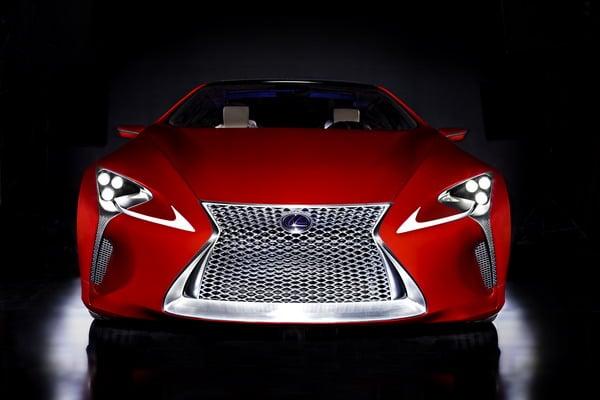 Lexus LF-LC: elegante prototipo della nuova coupé full hybrid 2+2 4
