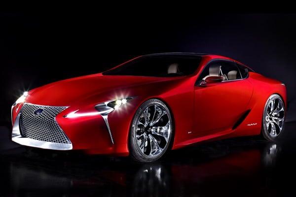 Lexus LF-LC: elegante prototipo della nuova coupé full hybrid 2+2 3