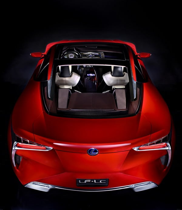 Lexus LF-LC: elegante prototipo della nuova coupé full hybrid 2+2 2