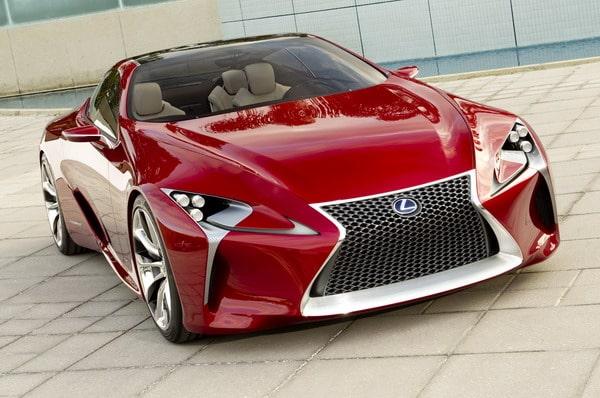 Lexus LF-LC: elegante prototipo della nuova coupé full hybrid 2+2 1