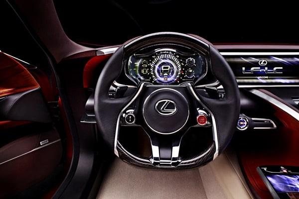 Lexus LF-LC: elegante prototipo della nuova coupé full hybrid 2+2 6