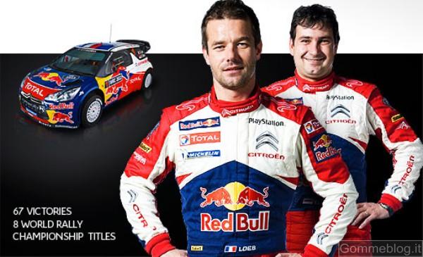 Sébastien Loeb e Daniel Elena in chat su facebook il 25 gennaio