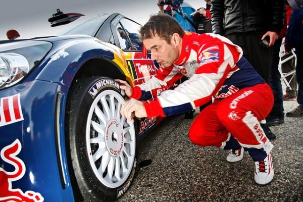 Michelin e Citroen Campioni al Rally di Montecarlo 2012 con Sébastien Loeb