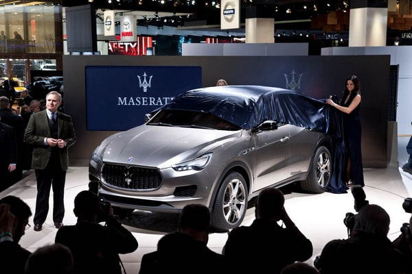 Maserati Kubang: il concept suv sportivo debutta al Salone di Detroit 2012