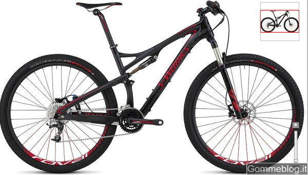 Mountain Bike Specialized Epic: S-Works Epic Carbon 29er SRAM