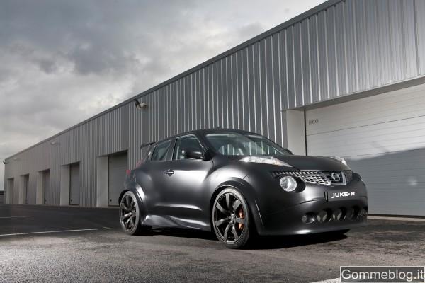 Nissan Juke-R è il crossover più veloce del mondo. Prestazioni Confermate