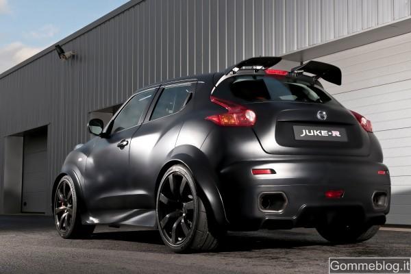 Nissan Juke-R è il crossover più veloce del mondo. Prestazioni Confermate 2