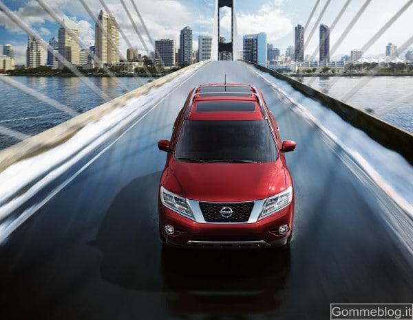 Nissan Pathfinder Concept al Salone di Detroit