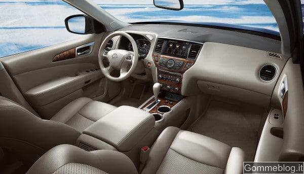 Nissan Pathfinder Concept al Salone di Detroit 4