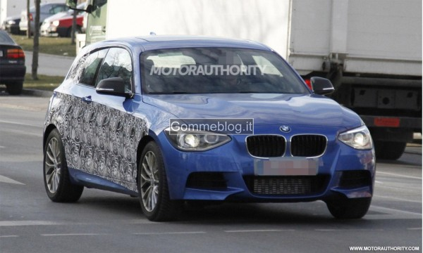 Nuova BMW Serie 1 M-Sport: le prime Spy Photo
