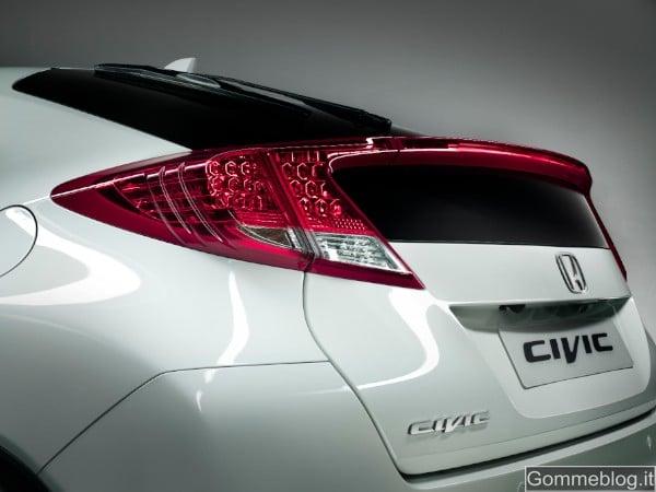 Nuova Honda Civic: gamma, prezzi, equipaggiamenti