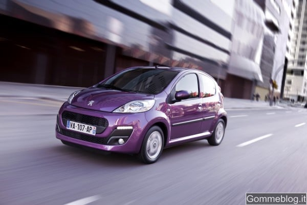 Nuova Peugeot 107: so urban, so cute!
