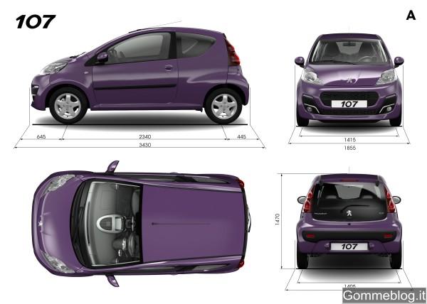 Nuova Peugeot 107: so urban, so cute! 2