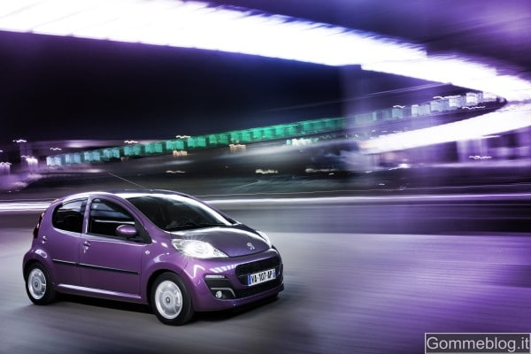 Nuova Peugeot 107: so urban, so cute! 3