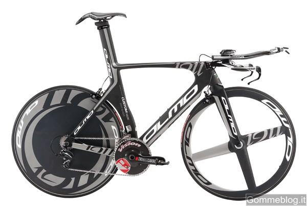 Olmo Kronos Dura ACE 10V: bici studiata per gare a cronometro e triathlon