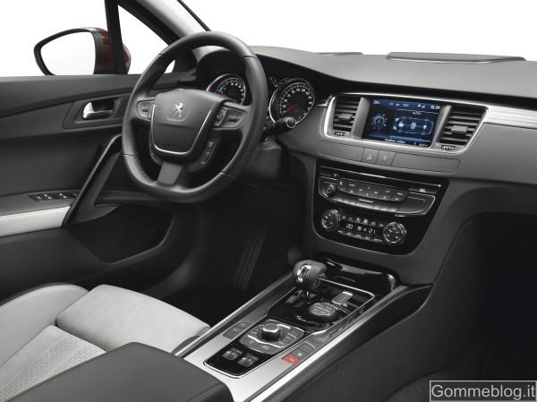 Peugeot 508 RXH: ibrido diesel 4 ruote motrici 4