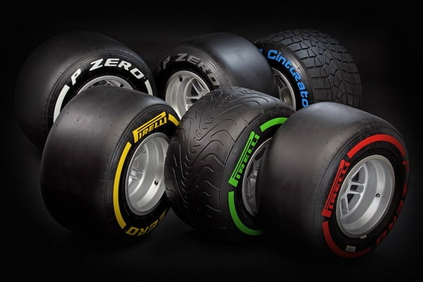 Formula 1 2012: a Jerez si testano i nuovi pneumatici F1 Pirelli 2012 3