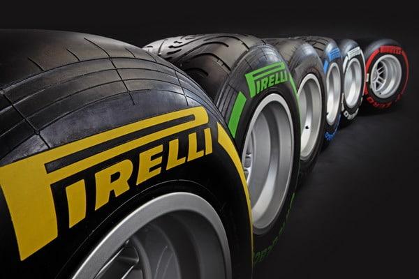 Pneumatici Pirelli Formula Uno 2012