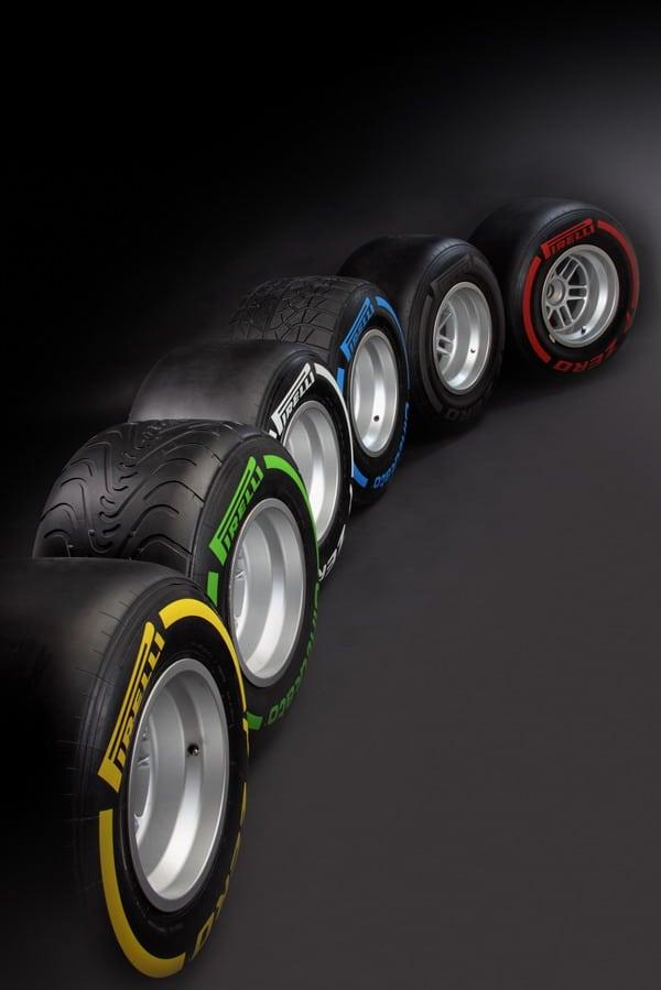 Pneumatici Pirelli Formula 1 2012: PZero e Cinturato per asciutto e bagnato