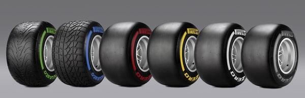 Pneumatici Pirelli Formula Uno 2012 5