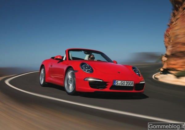 Porsche 911 Cabrio: presentazione ufficiale al Salone di Detroit