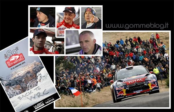 Rally di Montecarlo 2012: tra campioni e leggende