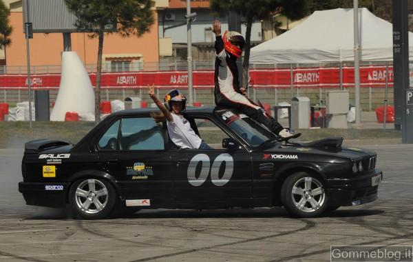 Drifting e spettacolo al Qatar Motor Show 2012