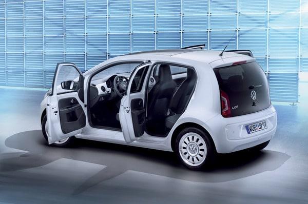 Volkswagen up! Arriva la nuova versione a 5 porte