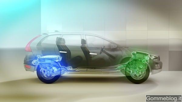 Volvo XC60 Hybrid Plug-in Concept: un mix unico di benzina ed elettrico 1