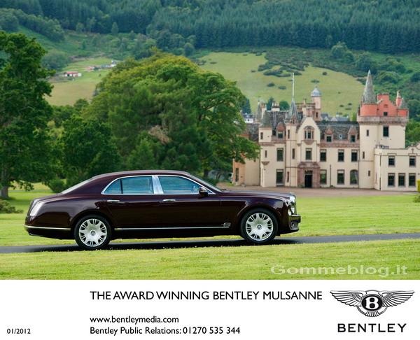 Bentley: nuovi premi per Continental e Mulsanne